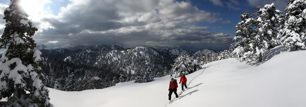 ski touring periklis training